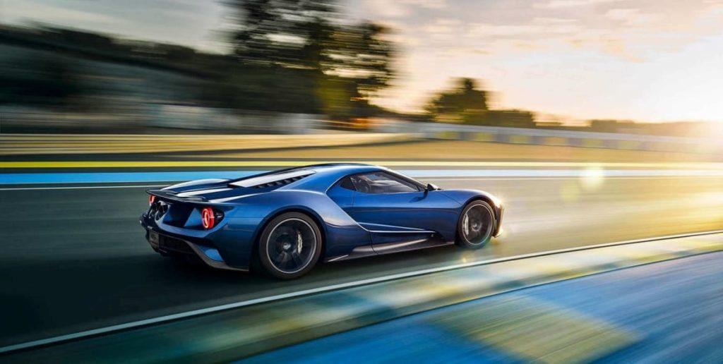 Ford GT генерирует 100 ГБ данных в час