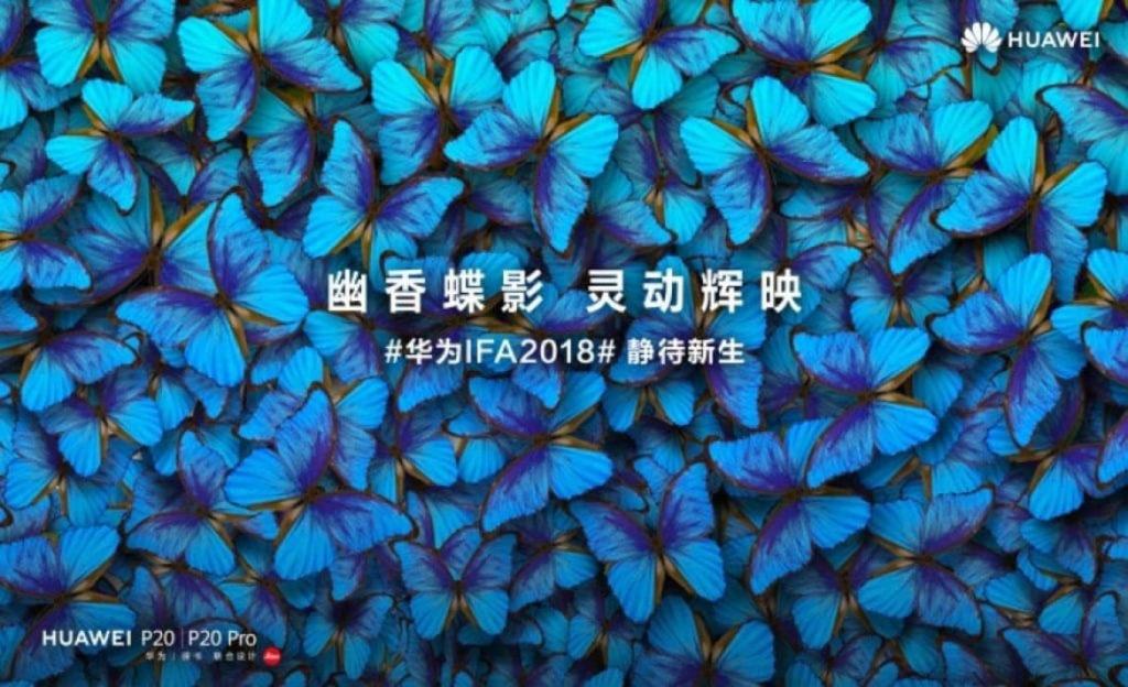 Huawei представит два новых цвета для P20 и P20 Pro