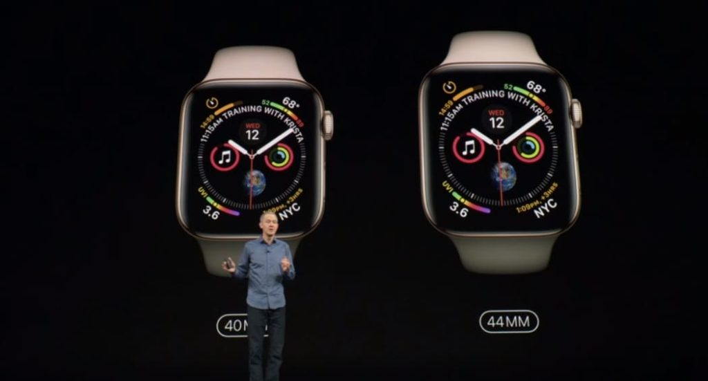 Apple Watch Series 4 представлен официально