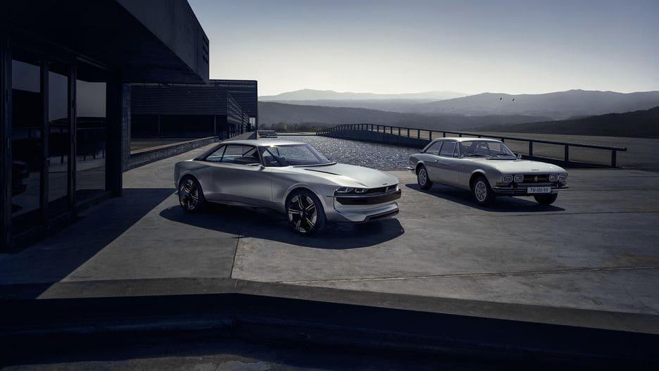 Peugeot показала E-Legend: старый кузов в футуристическом стиле
