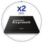 Samsung представила 6-ядерный процессор Exynos 7872 и сканер сетчатки глаза