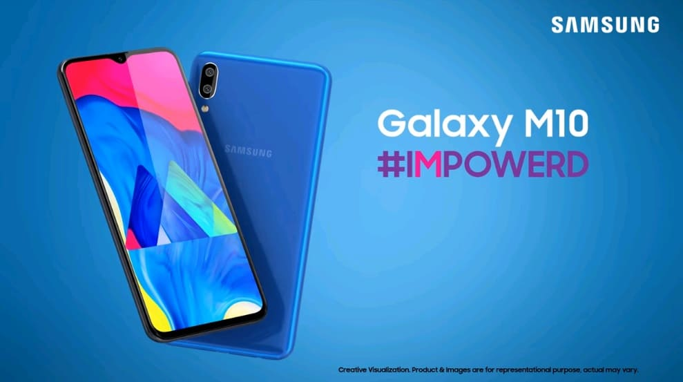 Samsung представила смартфоны Galaxy M10 и M20 с Infinity дисплеями