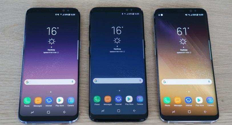 Экран Galaxy S8 Plus