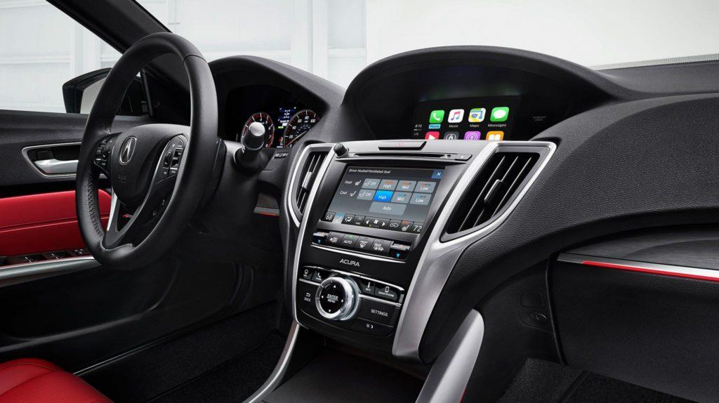 Салон Acura TLX PMC Edition