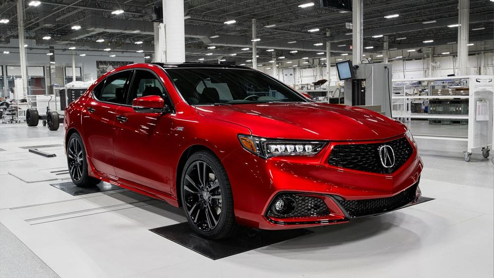 Acura TLX PMC Edition red