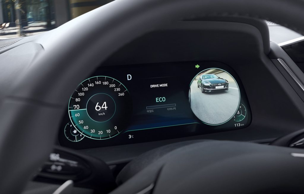 Приборная панель Hyundai Sonata 2020