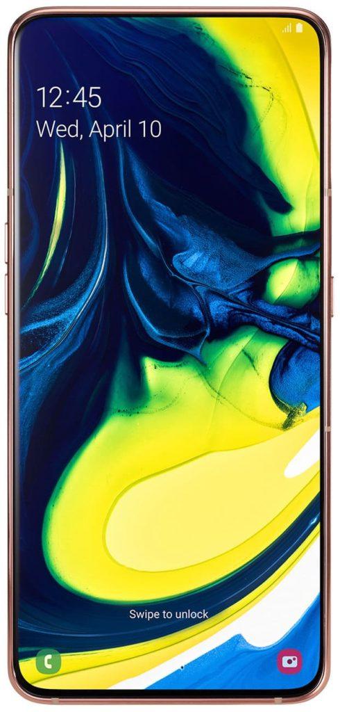Samsung Galaxy A80: смартфон с выдвижной поворачивающей камерой