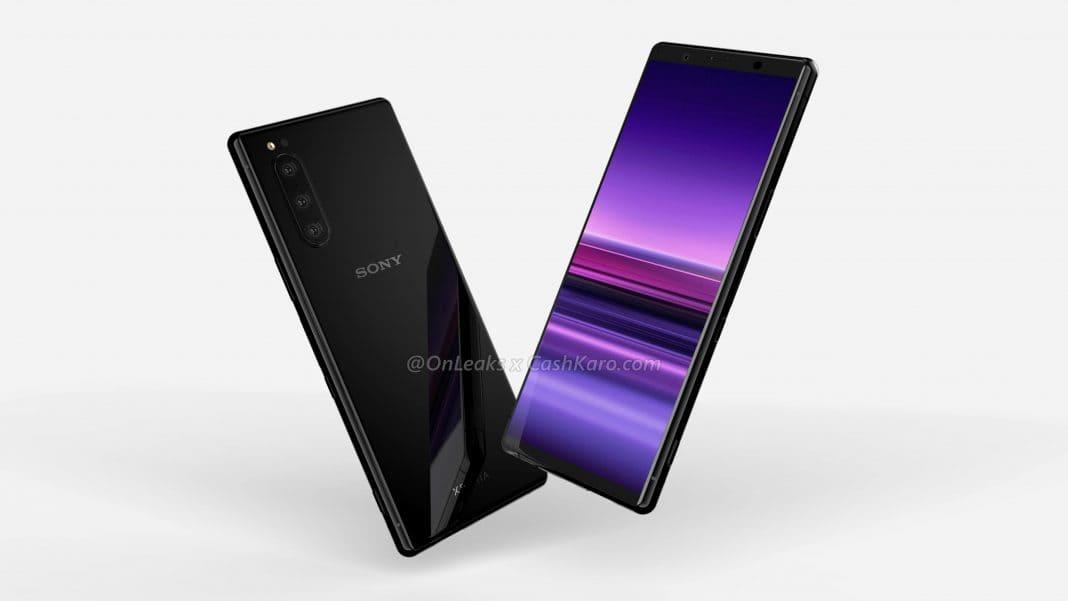 Стал известен внешний вид Sony Xperia 2