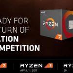 Дата выхода и цена AMD Ryzen 5