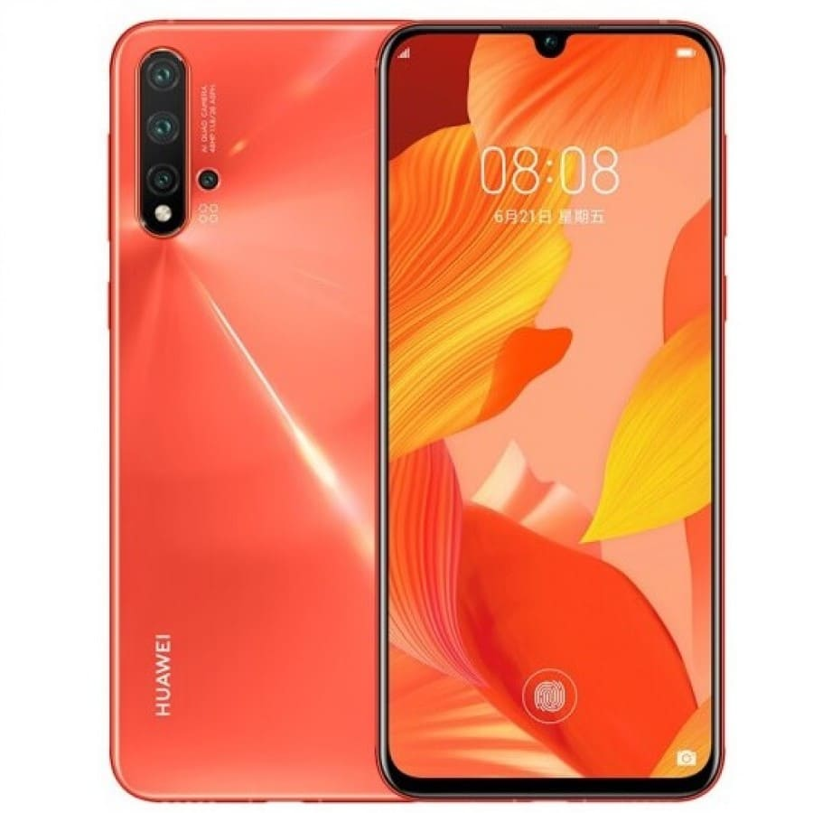 Оранжевый nova 5 Pro