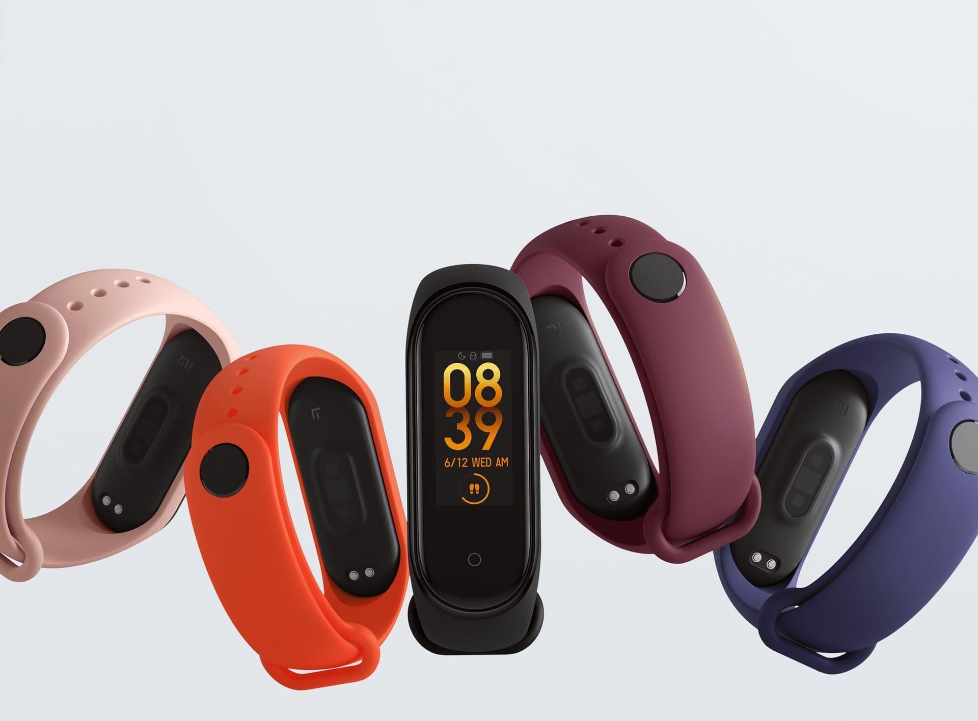 Фитнес-трекер Xiaomi Mi Band 4