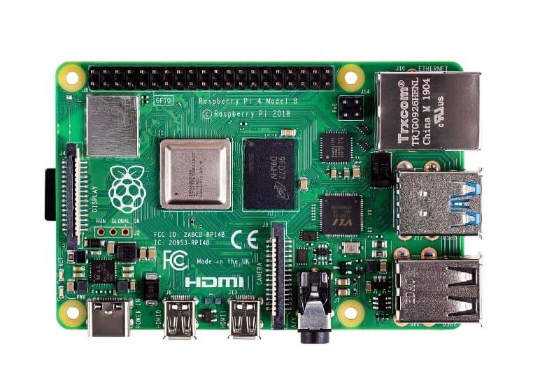 Raspberry-Pi-4-model-B
