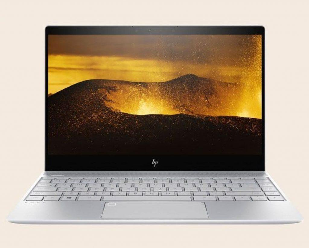 HP Envy 13 2017 — ноутбук с тонким обрамлением