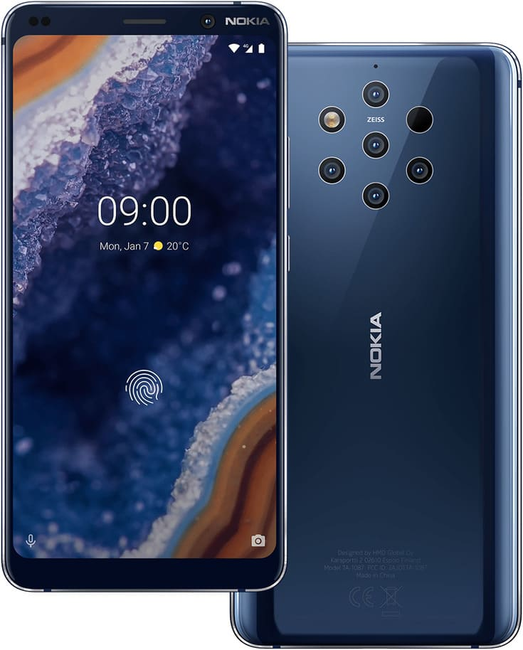 Android 10 Q Nokia 9 PureView