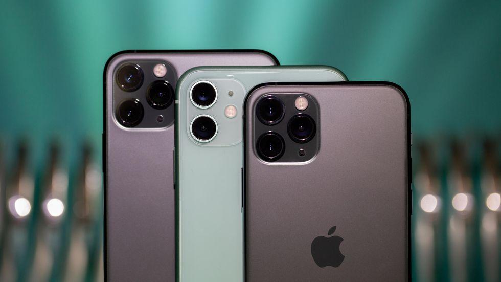 Сравнение айфонов 11 2019