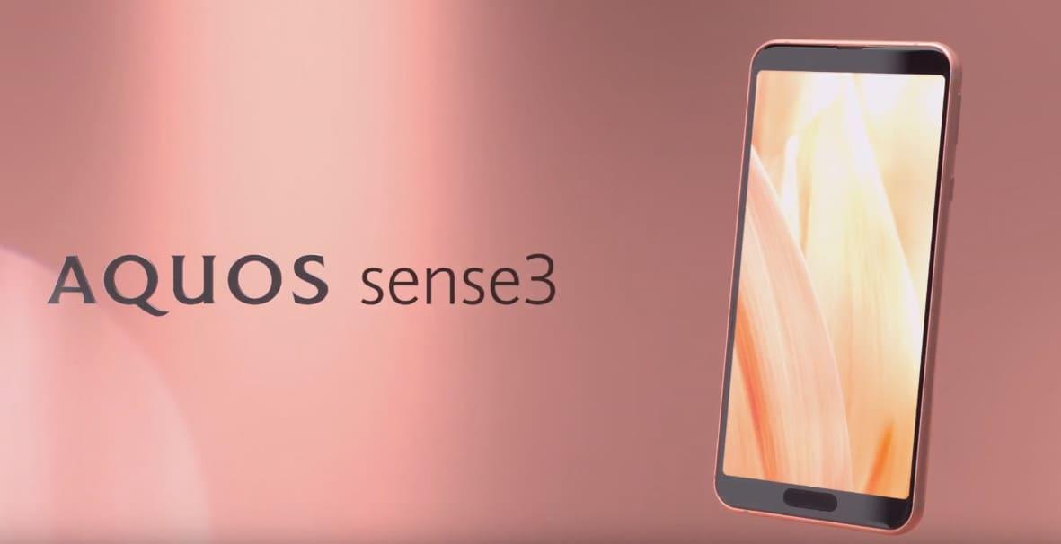 Sharp AQUOS Sense 3