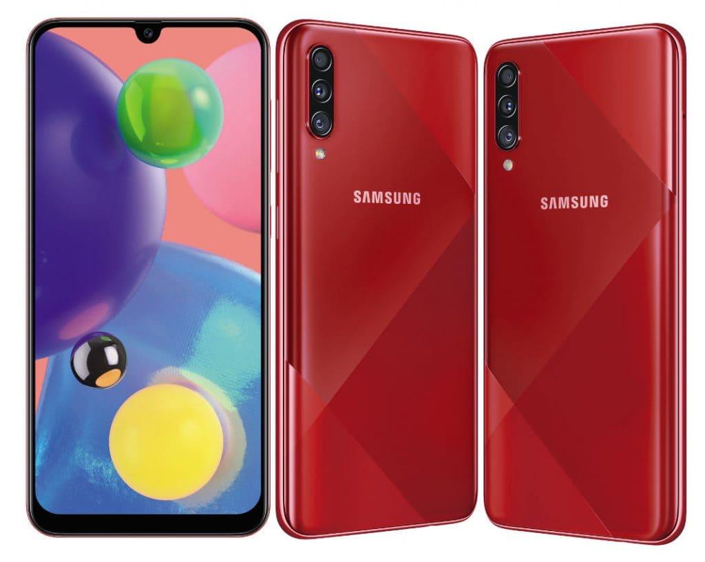 Представлен Samsung Galaxy A70s – предтоповая модель в линейке Galaxy A 2019 года