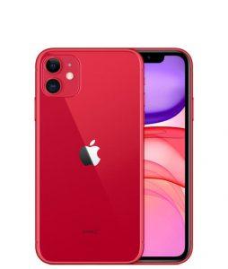 iphone 11 красный