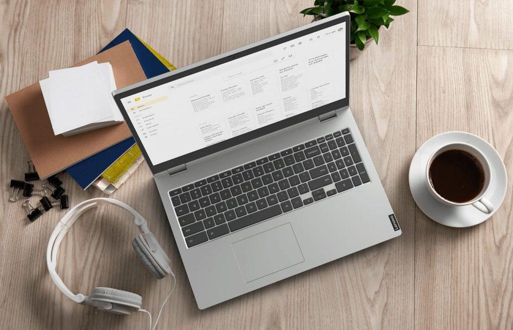 Бюджетный ноутбук Lenovo Chromebook C340 представлен на системе Google