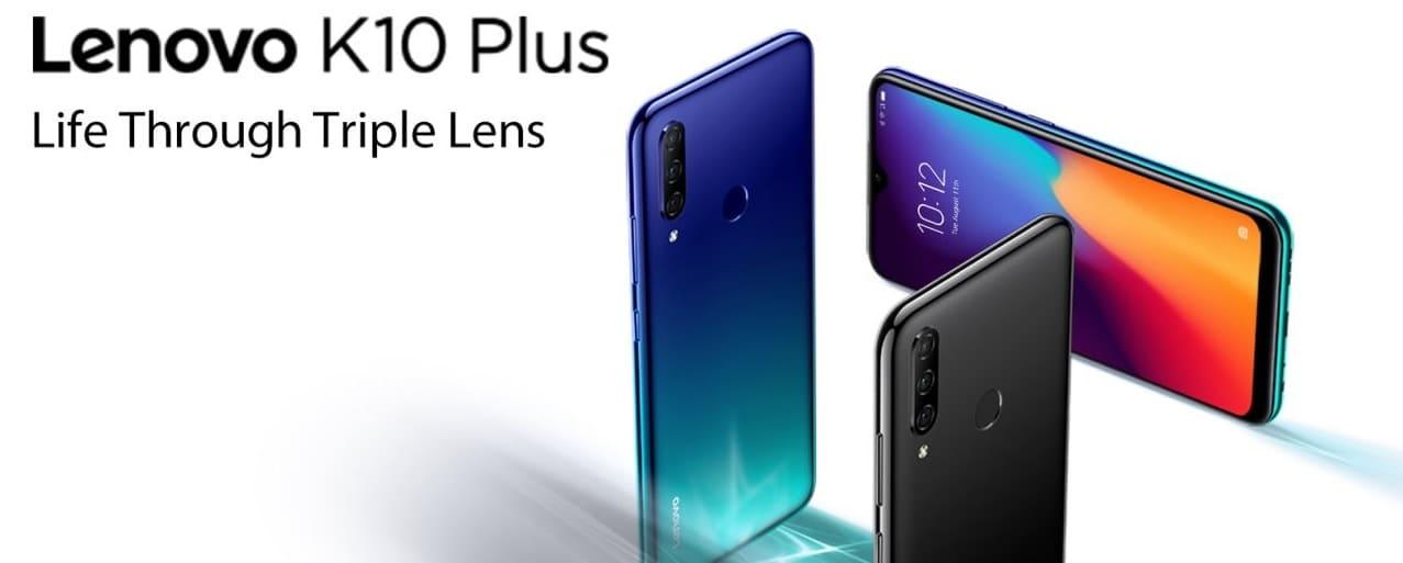 Lenovo K10 Plus анонсирован с тройной камерой