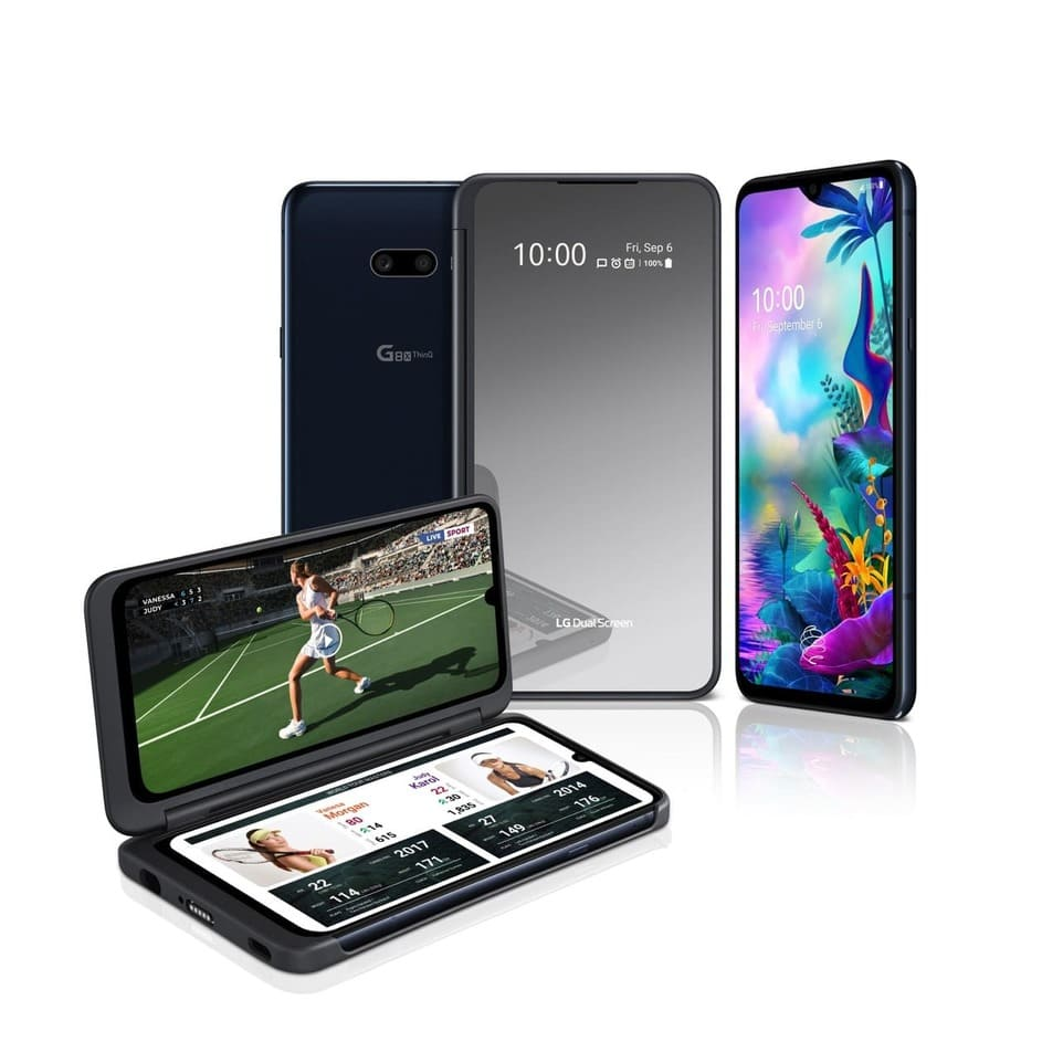 LG Dual Screen - двойной экран