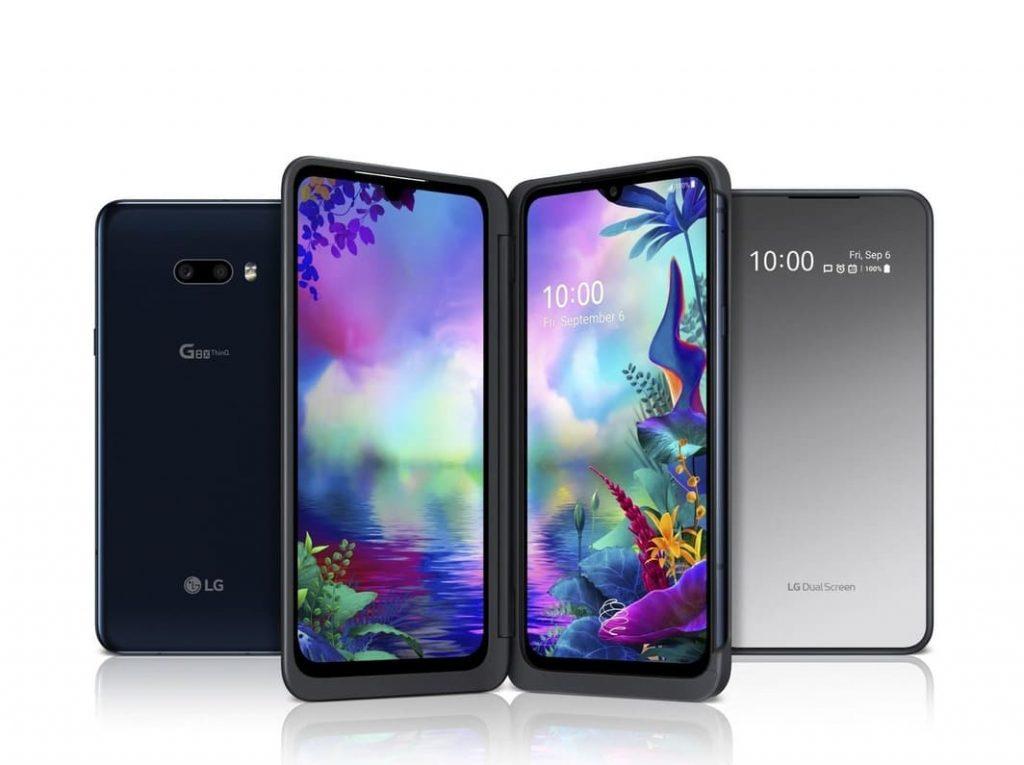 Флагман LG G8X THINQ и его версия LG Dual Screen с двойным экраном официально представлены