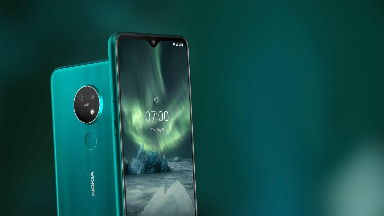 Nokia 7.2 2019 представлен с круглой тройной задней камерой