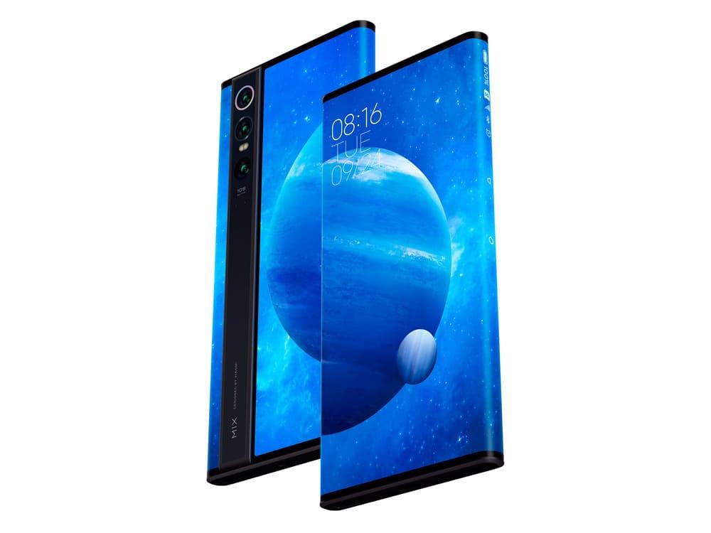 Смартфон Xiaomi Mi MIX Alpha на 180% состоит из экрана