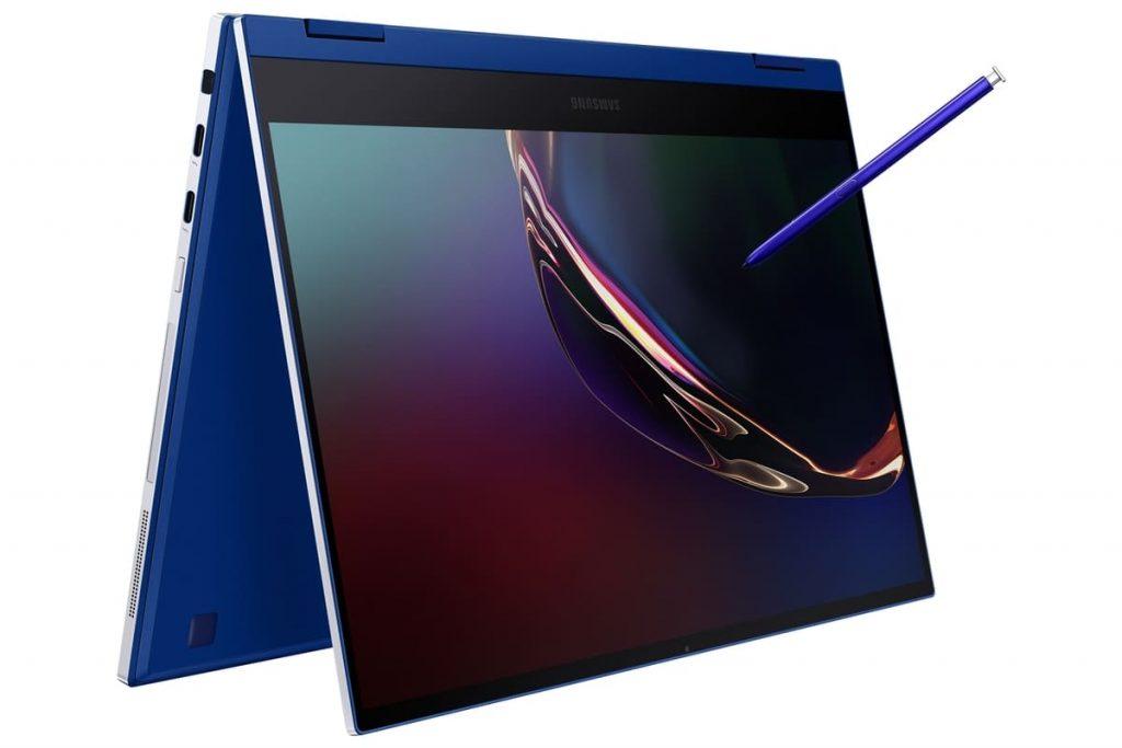 Samsung представила ноутбук-трансформер Galaxy Book Flex