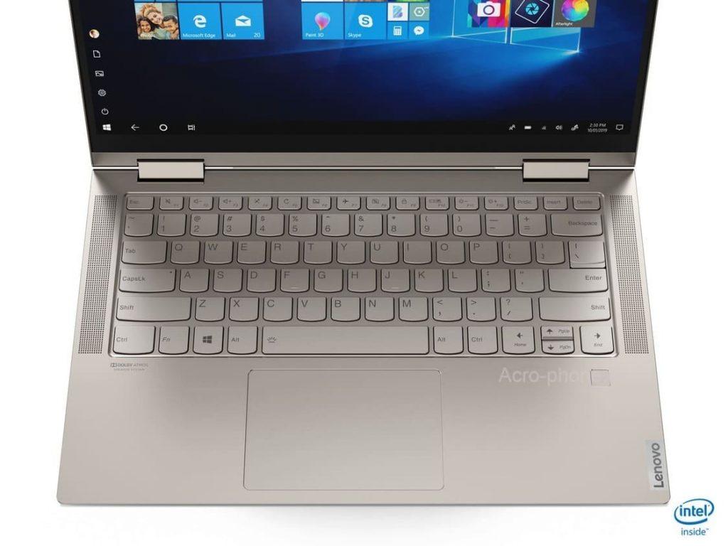 Lenovo в России представила ноутбук-трансформер Yoga C740