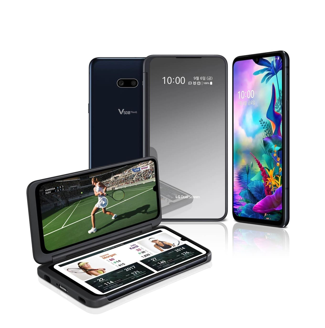 Представлен LG V50S ThinQ с 5G – клон G8x ThinQ для внутреннего рынка