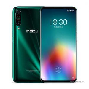 Meizu 16t зеленый