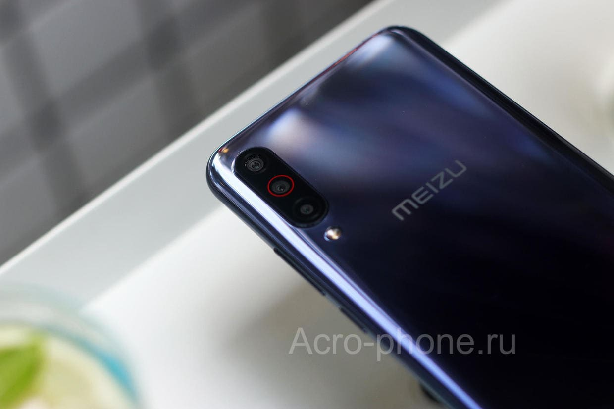 Meizu 16T Заднняя камера