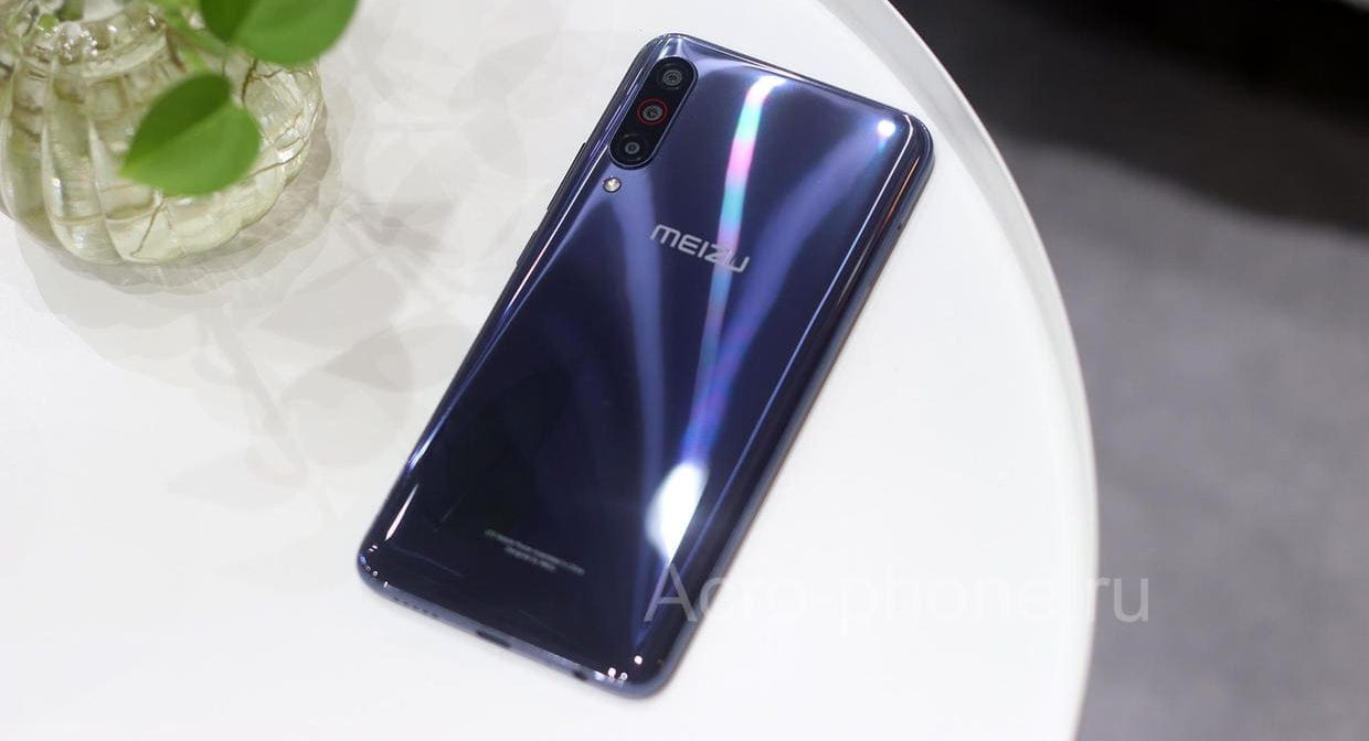 Камера Meizu 16T