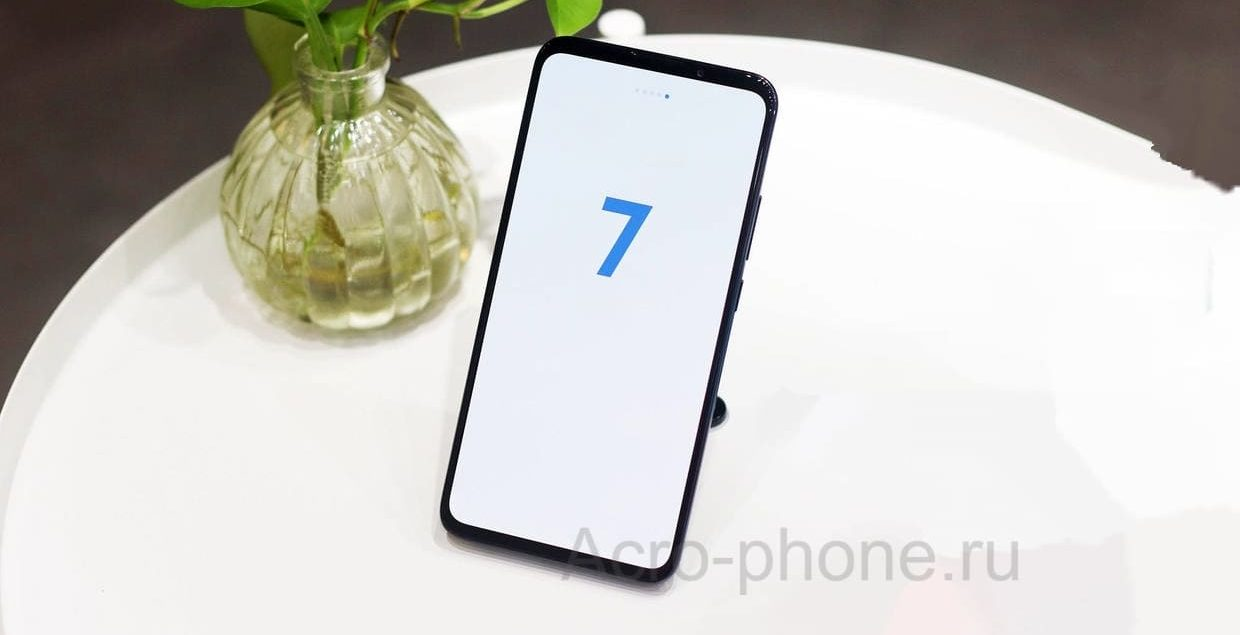 Система Meizu 16T