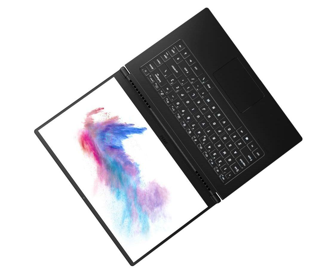 Ноутбуки MSI Modern 15 представлены c алюминиевым корпусом