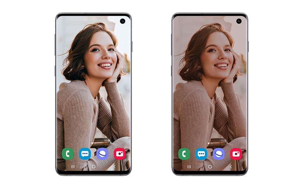 Обновление для Samsung Galaxy S10 до One UI 2