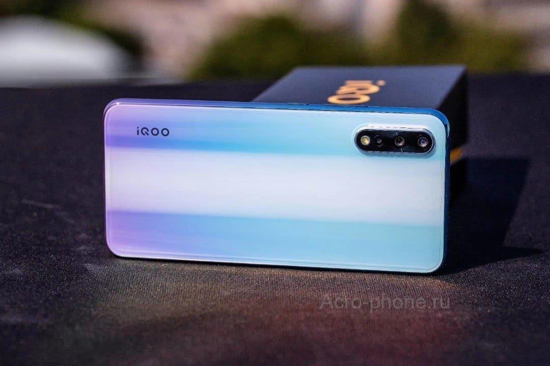Vivo iQOO Neo 855 камера