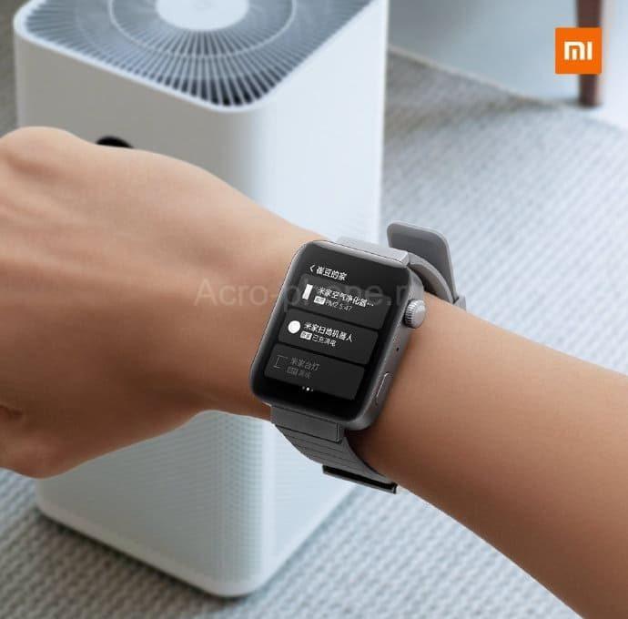 Смарт-часы Xiaomi MI Watch оснастили чипом Qualcomm Snapdragon 3100