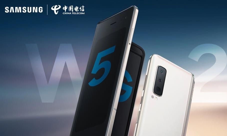 Складной Samsung W20 5G: представлен чуть ли не самый мощный телефон компании