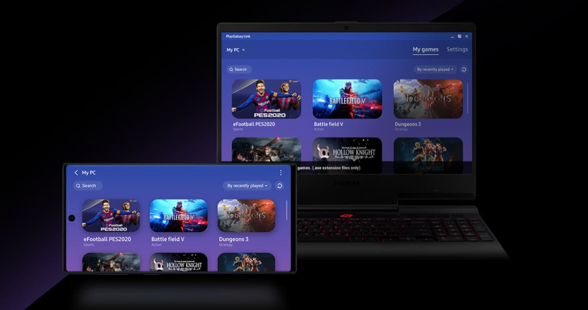 Samsung запустила сервис по трансляции игр на смартфон PlayGalaxy Link