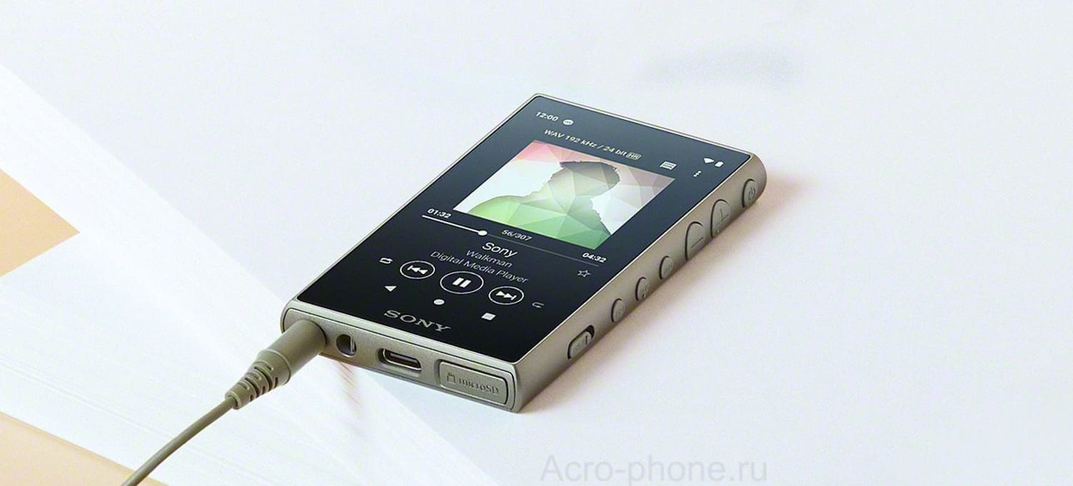Android-Плеер Sony Walkman NW-A100TPS