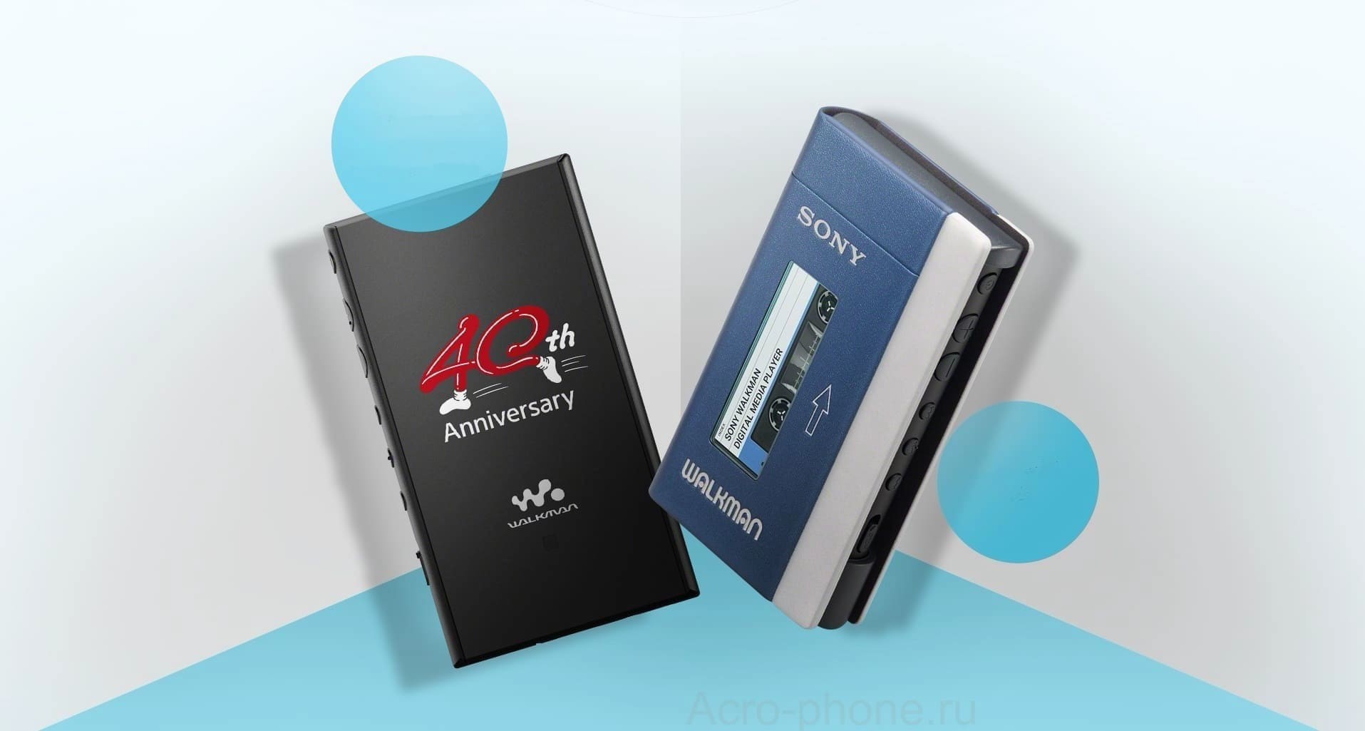 Sony выпустила в России Android-плеер Sony Walkman NW-A100TPS 40th Anniversary Limited