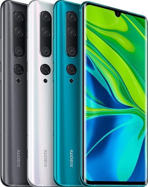 Наконец представлен Xiaomi Mi Note 10, тот самый смартфон со 108 МП камерой для глобального рынка