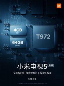 Xiaomi tv 5-tea