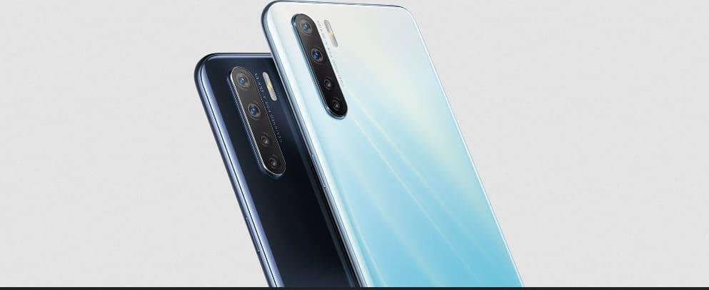 Новинка от Oppo: смартфон с 4 камерами Oppo A91