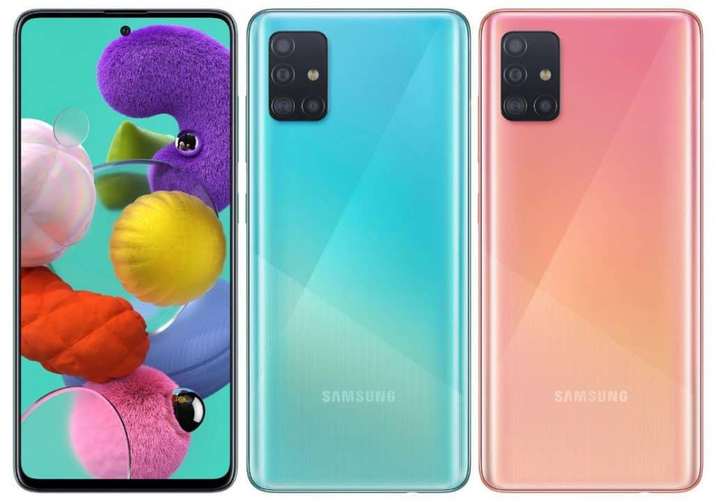 Состоялся запуск Samsung Galaxy A51 c 4-камерами