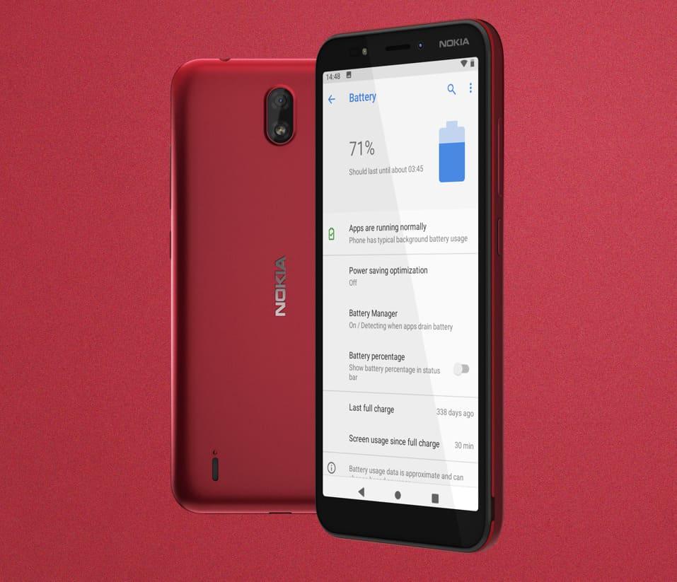 Новый Nokia C1 с Android Go Edition стоит чуть более 3500 рублей