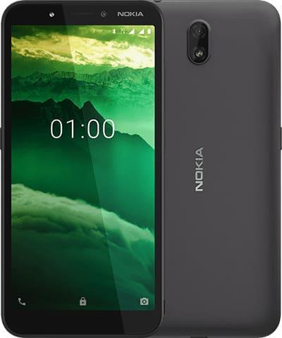 Nokia C1 черный