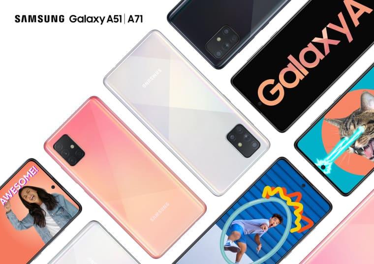 Samsung Galaxy A71 с 64 МП камерой представлен официально